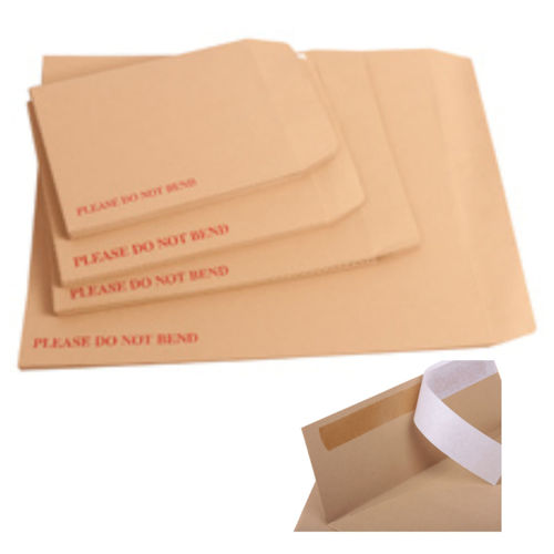 "QTY 10 - Board Back Envelopes A5 (C5) - 9"" X 6.5"" (229x162mm)"