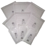 QTY 100 - JL000 JIFFY Genuine Bubble Padded Mail Bags 90x145mm