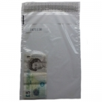 QTY 100 Large Money Bank Bags (Notes/Valuables) TAMPER EVIDENT